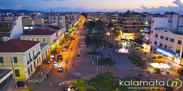 Η νυχτερινή ζωή στην Καλαμάτα - Kalamata IN