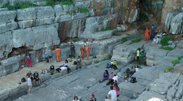 Σπηλαιολογική εξόρμηση στο Καταφύγι Σελίνιτσας
