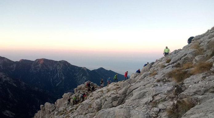 Ανάβαση στο Χαλασμένο με τον Ορειβατικό