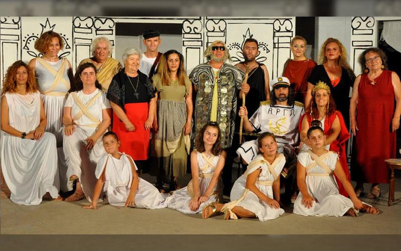 Η θεατρική ομάδα Οδύσσεια παρουσιάζει την παράσταση Μήδεια του Μποστ